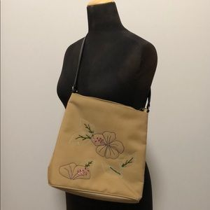 Handbags - Cute Olive Green Purse With Flowers